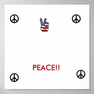 poster da paz