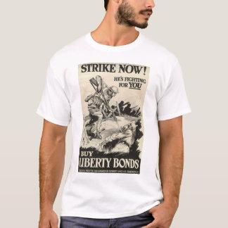 Poster da Primeira Guerra Mundial dos Estados T-shirt