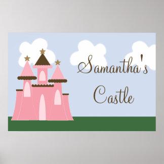 Poster da princesa Castelo