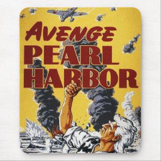 Poster da propaganda do tempo de guerra WW2 Mouse Pad