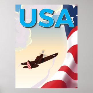 Poster da segunda guerra mundial do vintage dos
