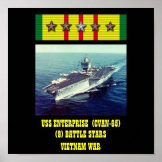 POSTER DA USS ENTERPRISE (CVAN-65)