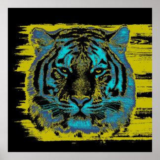 Poster das belas artes do tigre