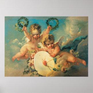 Poster das belas artes dos Cupido