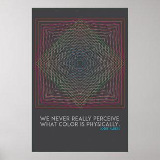 Poster das citações da arte abstracta