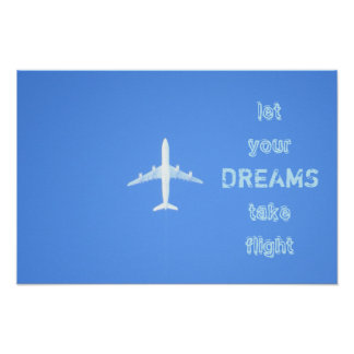 Poster das citações dos sonhos do viagem pôster