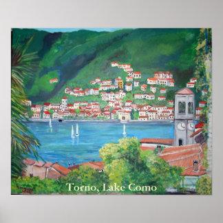 Poster de Como de Torno, lago