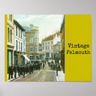 Poster de Falmouth do vintage Pôster
