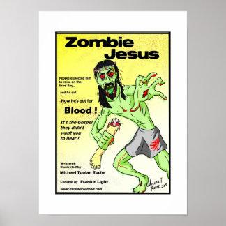 Poster de Jesus do zombi Pôster