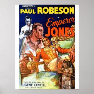 Poster de Jones do imperador