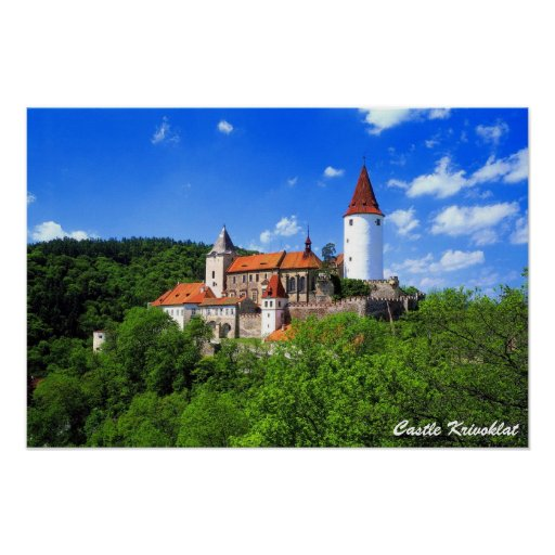 Poster de Krivoklat do castelo