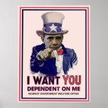 Poster de Obama do tio Sam