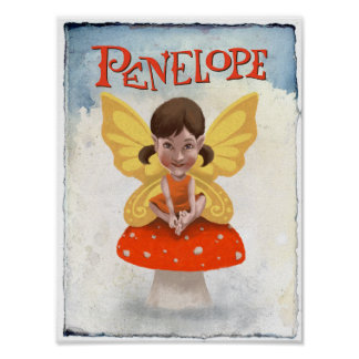 Poster de Penélope - papel do valor 9x12
