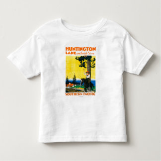 Poster de Promotinal do lago Huntington Camisetas