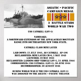 POSTER DE USS CATSKILL (LSV-1)