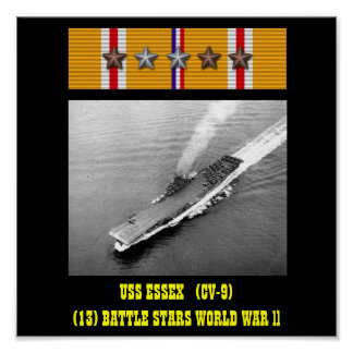 POSTER DE USS ESSEX (CV-9)