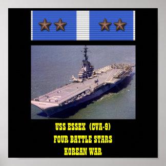 POSTER DE USS ESSEX (CVA-9)
