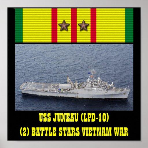 POSTER DE USS JUNEAU (LPD-10)