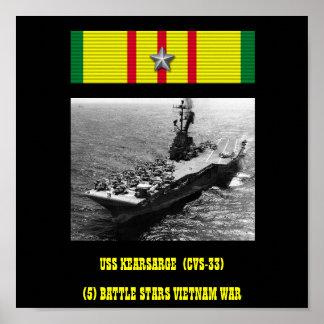 POSTER DE USS KEARSARGE (CVS-33   )