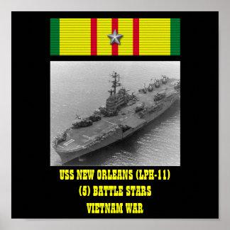 POSTER DE USS NEW ORLEANS (LPH-11)