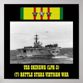 POSTER DE USS OKINAWA (LPH-3)