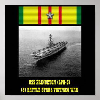 POSTER DE USS PRINCETON (LPH-5)