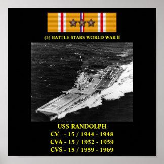 POSTER DE USS RANDOLPH (CV/CVA/CVS-15)