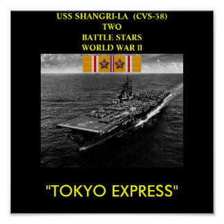 POSTER DE USS SHANGRI-LA (CV-38)