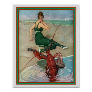 "Póster Disco 1914 da ""Serenade"" 16 x 20 lagosta"