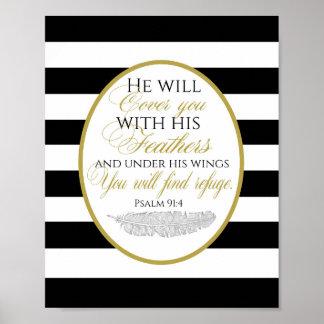 Poster do 91:2 do salmo