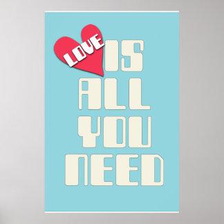 Poster do amor