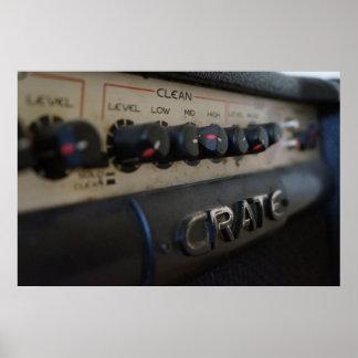 Poster do amplificador da caixa de Nocturmia Photo