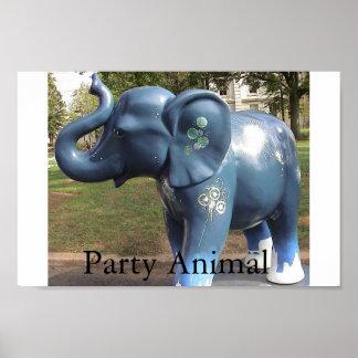 Poster do animal de partido