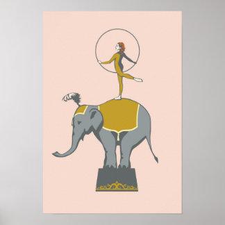 Poster do ato de circo