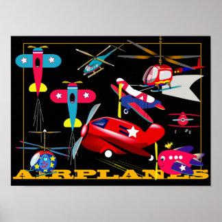 Poster do avião
