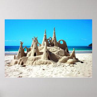 Poster do castelo da areia