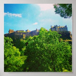 Poster do castelo de Edinbugh