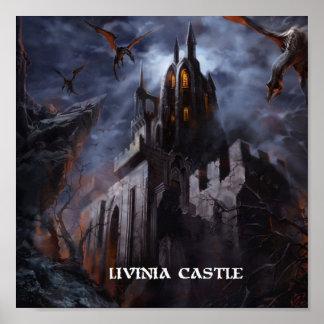 Poster do castelo de Livinia