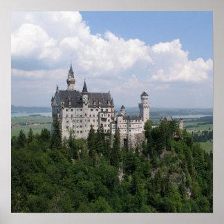 Poster do castelo de Neuschwanstein