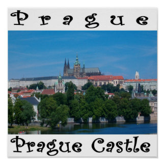 Poster do castelo de Praga