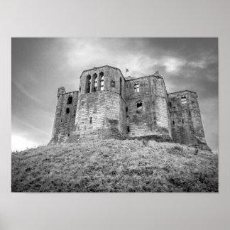 Poster do castelo de Warkworth