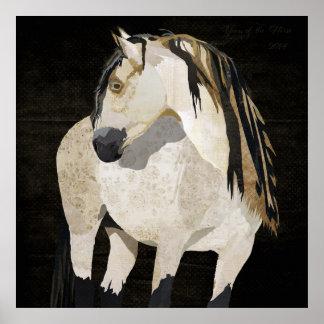 Poster do cavalo branco