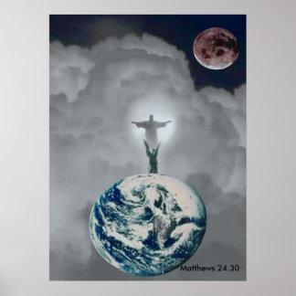 Poster do cristão do 24:30 de Matthews