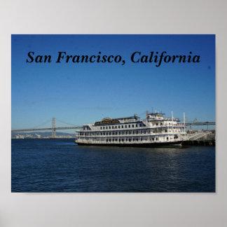 Poster do cruzeiro #2 de San Francisco Hornblower