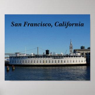 Poster do cruzeiro de San Francisco Hornblower