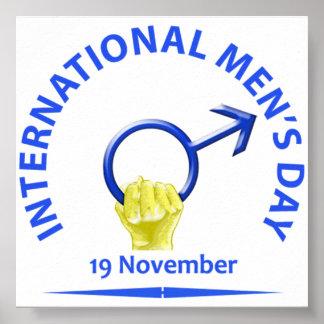 Poster do dia de homens