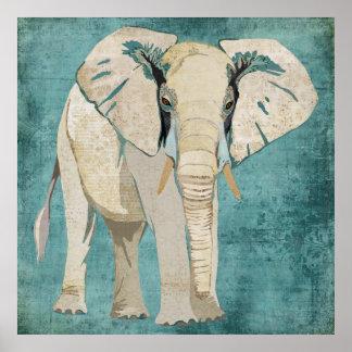 Poster do elefante branco