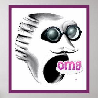 Poster do gritar OMG