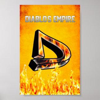 Poster do império de Diablos