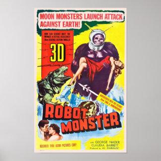 Poster do monstro do robô